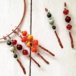 Choker pendant copper necklace